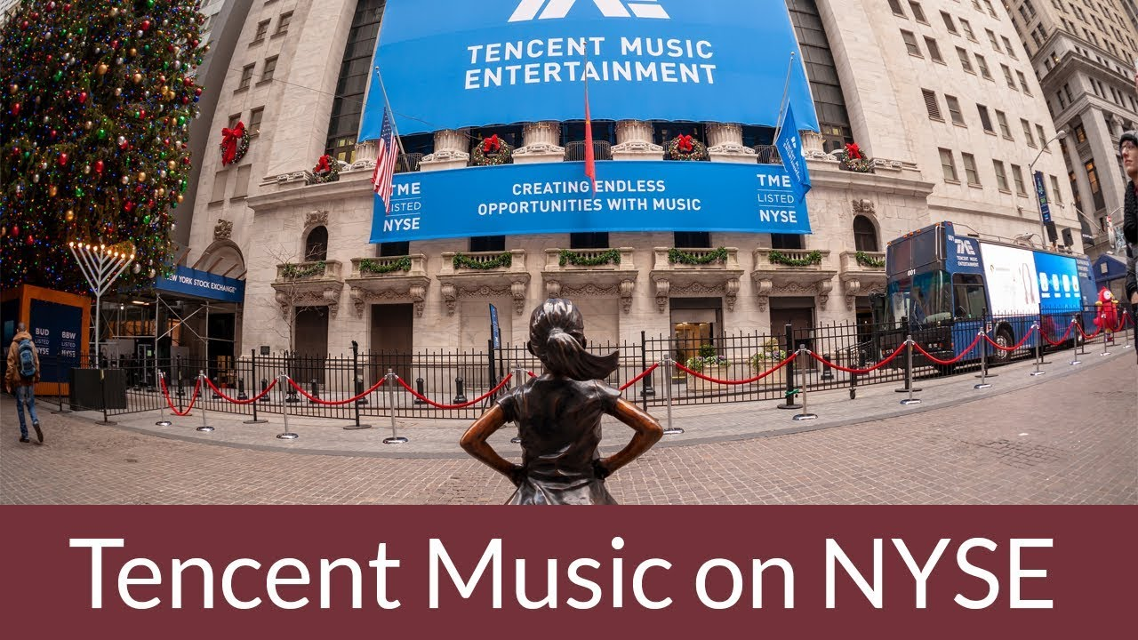 Friday Flashback: Tencent Music Targets Spotify by Debuting