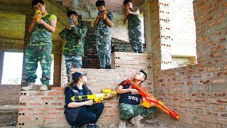 Hihahe Nerf War SWAT & Marine Corps Nerf Guns Mercenary Group Nerf War