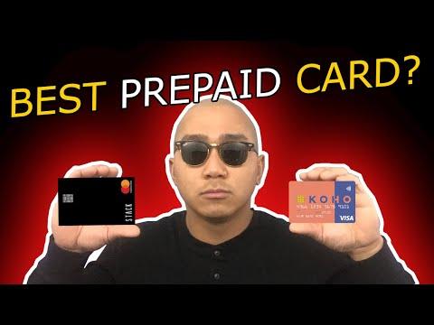 Stack VS Koho - Prepaid Card Review
