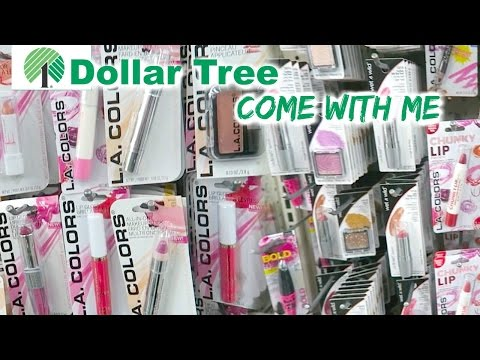 Come with Me to Dollar Tree - Dollar Tree Makeup Challenge?!