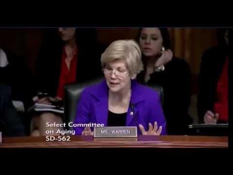 Elizabeth Warren - Combating Financial Exploitation of Vulnerable Seniors