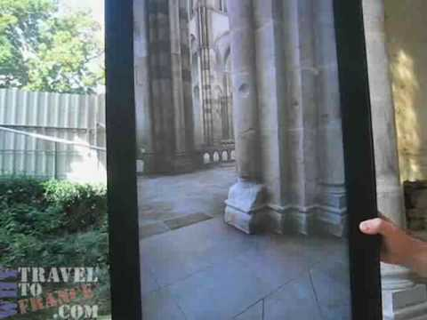 Augmented Reality of the Transept in Cluny France