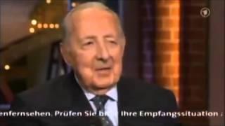 Peter Scholl-Latour über die Tunesie,die Algerier & die Marokkaner