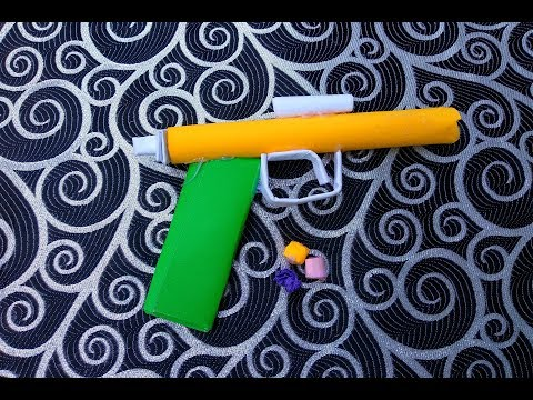 How to make paper weapons that hurt | Paper gun that hurts and shoots easy for kids