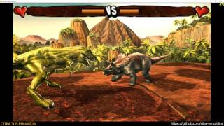 Citra 3DS Emulator - Combat of Giants: Dinosaurs 3D ingame 1080p