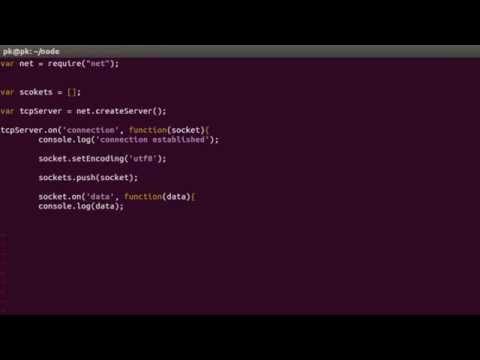 Node.js - TCP Chat Application