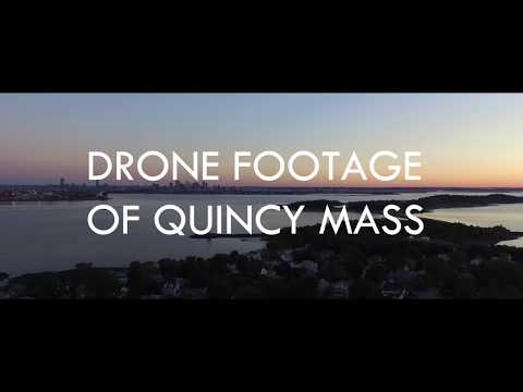 HD Drone Footage of Quincy Massachusetts (Shot with Phantom 3)