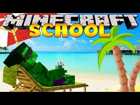 Minecraft School Holiday : MCDONALDS AT THE AIRPORT!