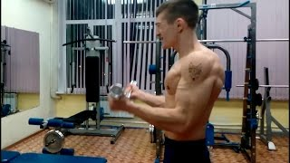 Тренировочка для рук и дельт (мешок+суперсет(трисет)+дробсет)