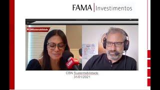 CBN Sustentabilidade - Entrevista com Rosana Jatobá (31/01/2021)