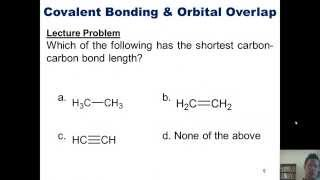 Chapter 1 – Electronic Structure and Bonding: Part 2 of 5