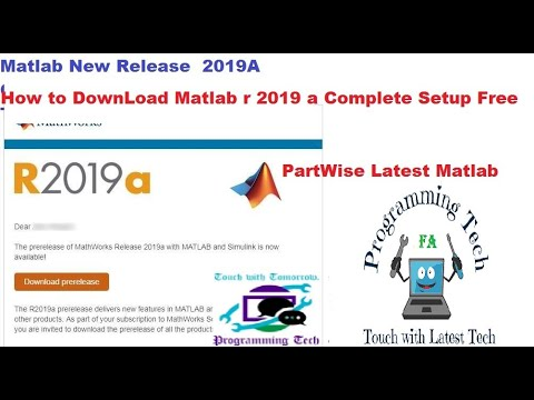 How to Download Matlab r 2019a Complete For Windows|Latest Matlab Download