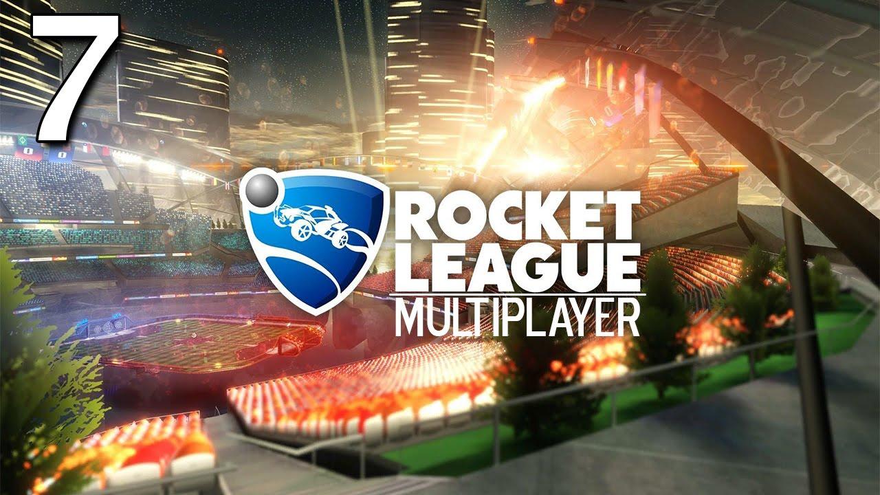 Download Rocket League - Multiplayer (Ep.7) (ft. Northernlion, BaerTaffy, AlpacaPatrol, MathasGames)