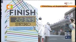 Wilson Kipsang storms to victory in the Tokyo Marathon