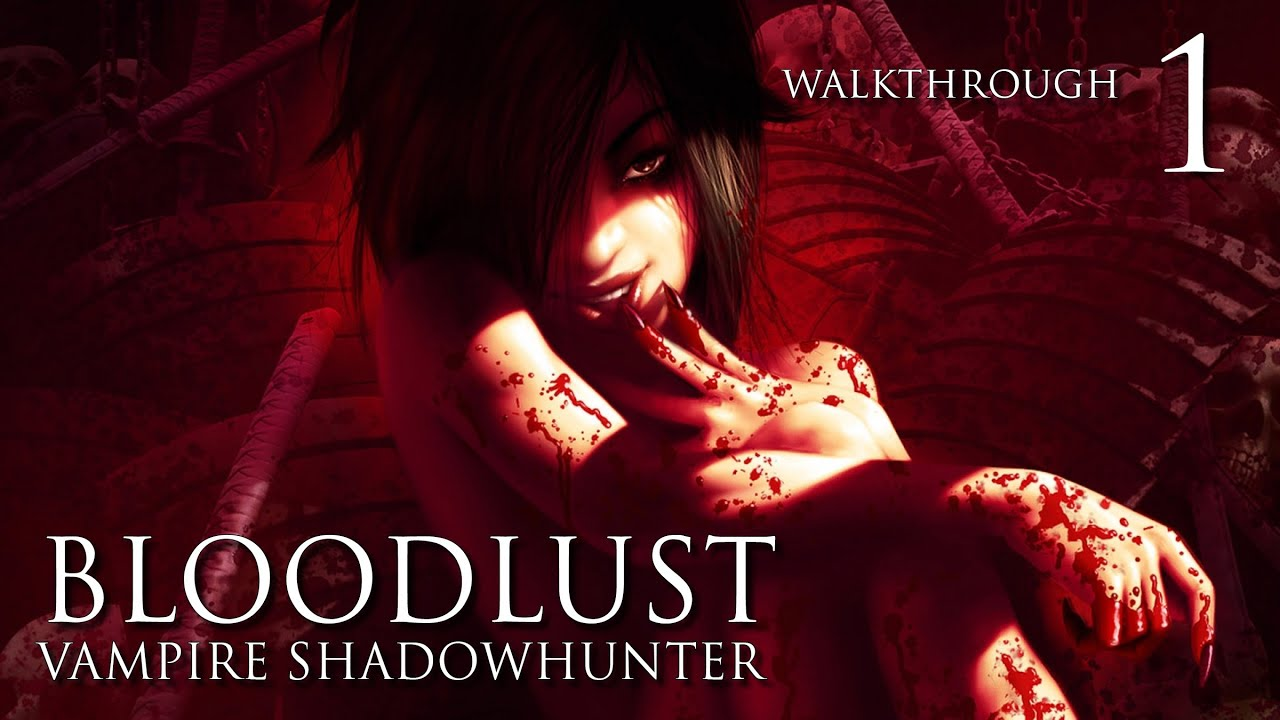 Skyrim Girl Wallpaper Bloodlust Vampire Shadowhunter Walkthrough 1 Intro And