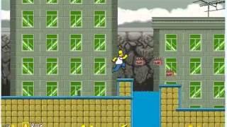 Приключения Симпсонов - бесплатная онлайн игра бродилка