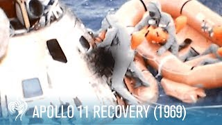 NASA Apollo 11 Recovery (1969) | British Pathé