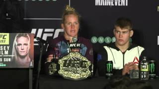 UFC 193: Post-fight Press Conference Highlights