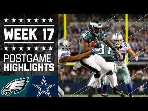 Eagles vs. Cowboys (Week 17, 2013) | Game Highlights | Battle for NFC East | NFL