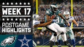 Eagles vs. Cowboys (Week 17, 2013) | Game Highlights | Battle for NFC East | NFL