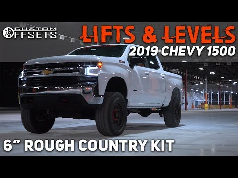 "Lifts & Levels: 2019 Chevy 1500 w/ 6"" Rough Country Lift Kit"