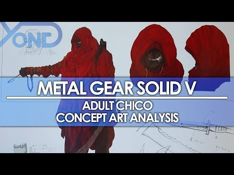 Metal Gear Solid V - Adult Chico Concept Art Analysis