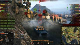 World of Tanks 9.9 Aslain`s Mod Pack Gameplay