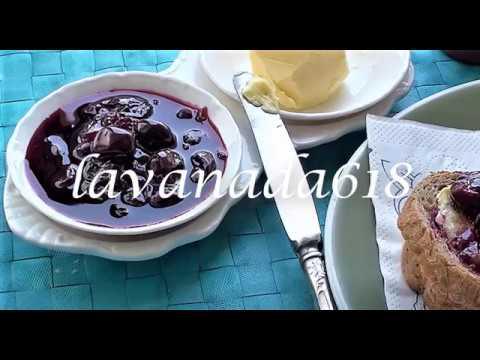 Ленивое вишневое варенье для здоровье Без косточек в собственном соку#ленивоеваренье