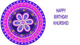 Khurshid   Indian Designs - Happy Birthday