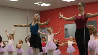 Kids Get On Pointe At Ballerina Summer Camp