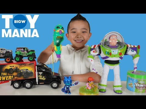 Toy Tester For BIG W TOY MANIA Event CKN Toys