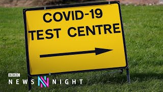 UK Covid cases could hit 100,000 a day - BBC Newsnight