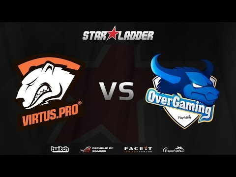 [EN] Virtus.pro vs OverGaming - (STARLADDER Starseries XI)