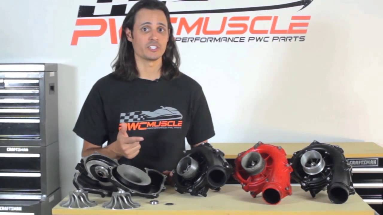 Sea-Doo Supercharger Rebuild Service by PWC Muscle