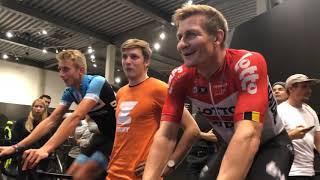André Greipel bei der Wahoo Zwift Tour of Germany in Koblenz