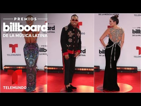 Los mejor vestidos en la alfombra roja de los Premios Billboard 2020