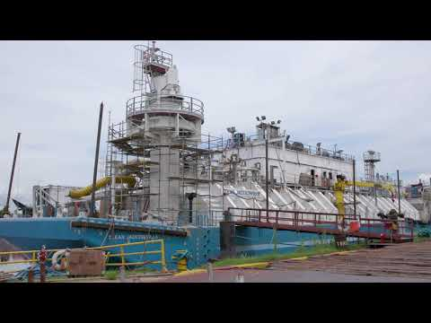 2,200m3 Clean Jacksonville barge video preview