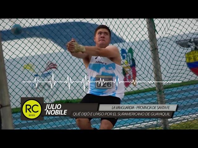 Julio Nóbile: repaso del 52° Campeonato Sudamericano de Mayores de Guayaquil