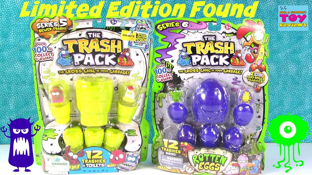 Trash Pack Trashies LIMITED EDITION Found  Series 5  6 Opening