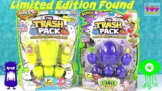 Trash Pack Trashies LIMITED EDITION Found | Series 5 & 6 Opening | PSToyReviews