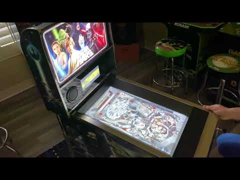 Star Wars Arcade1up Pinball Han Solo Table: Extended Play from Kelsalls Arcade