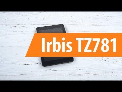Распаковка планшета Irbis TZ781 / Unboxing Irbis TZ781
