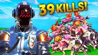 *HACKER* with 39 SOLO KILLS!! - Fortnite Funny WTF Fails and Daily Best Moments Ep. 855
