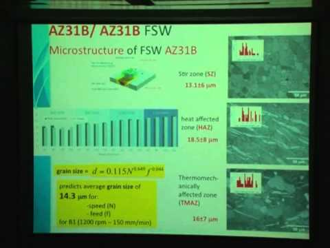 The 13th FEASAC - Friction Stir Welding (FSW) and Processing (FSP)