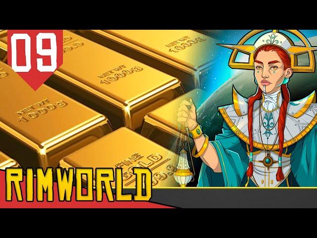 Recuperando o NOSSO OURO COLONIAL - Rimworld Ideology #09 [Gameplay PT-BR]