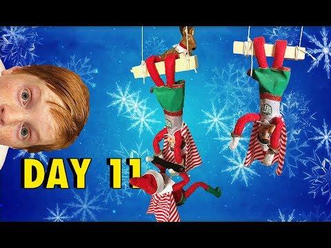 Elf on the Shelf - Circus Trapeze! 🎪🤓 ::