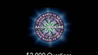 $2,000 Question - Who Wants to Be a Millionaire?