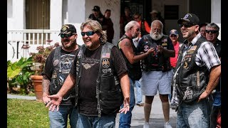 Riders in Florida celebrate centennial, raise money for hurricane relief