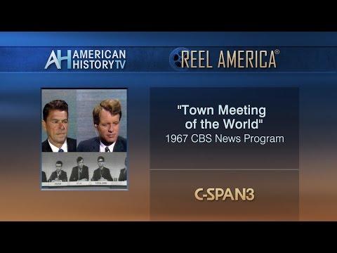 1967 CBS Debate on Vietnam - Reagan & RFK
