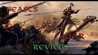 Total War: Rome II Beasts of War unit pack Review!!